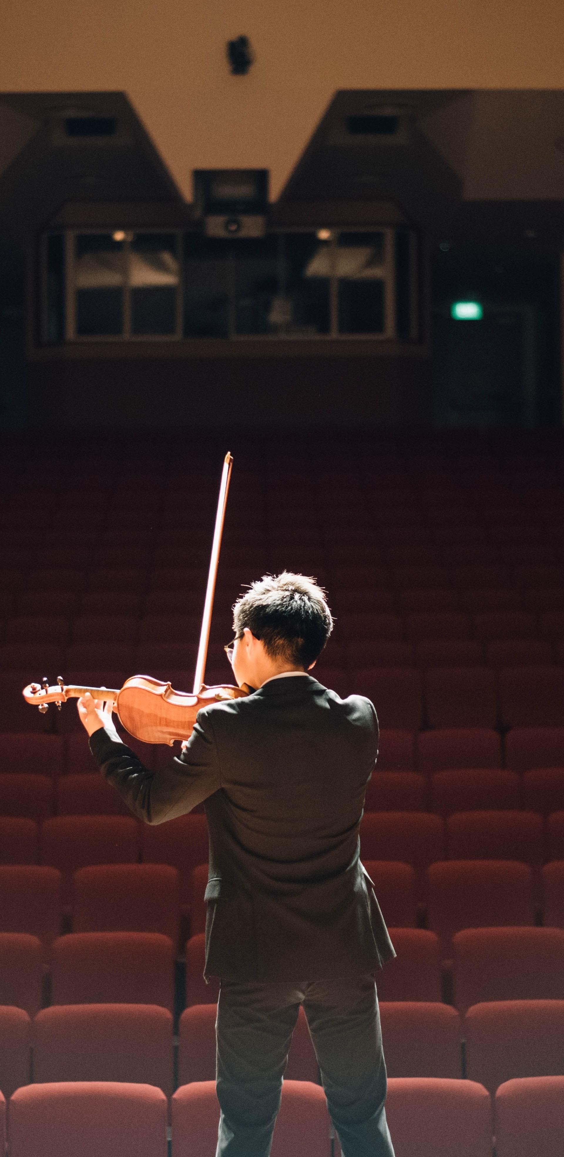 se préparer à son premier concert de musique classique