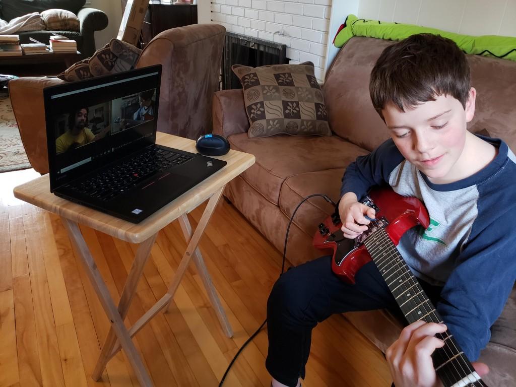 Cours de musique en ligne guitare