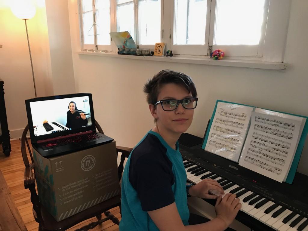 Cours de musique en ligne piano